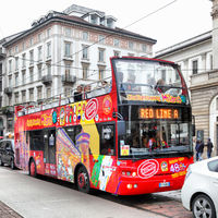 City sightseeing bus in Milan