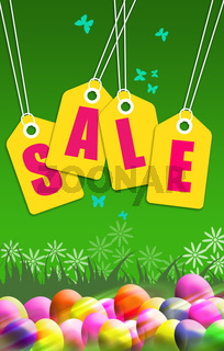 Sale Tag Poster