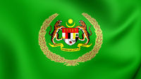 The Royal Standard of the Raja Permaisuri Agong