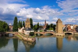 Strassburg im Elsass - skyline Strasbourg in  Alsace