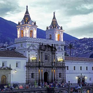 Kirche San Fransisco, Quito, Ecuador