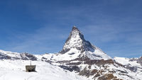 Famous Matterhorn in Switzerland