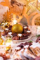 tasty Christmas gingerbread
