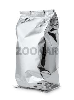 Silver foil food bag