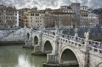 Angels Bridge Rome