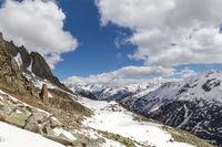 Beautiful Swiss Mountain Landscape