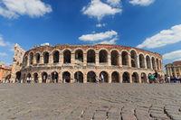 Verona Arena, Italy in springtime