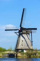 Windmühle in Kinderdijk