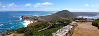 at Cape of Good Hope (view from Cape Point to Cape of Good Hope), South Africa