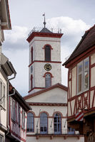 Seligenstadt town hall at the market place