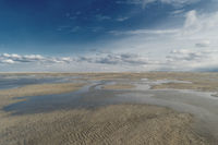 Beach of St. Peter-Ording in Germany