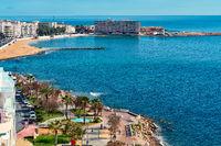 Seaside of Torrevieja city. Costa Blanca. Spain