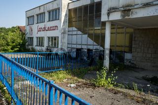 Zerstörte Fabrik aus dem Bosnienkrieg, Bosnien