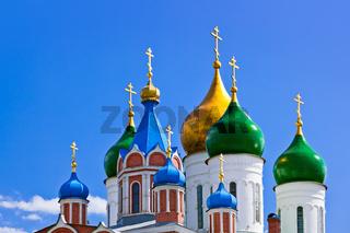 Churches in Kolomna Kremlin - Moscow region - Russia