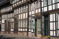 Einbeck - Half-timbered houses