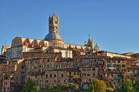 historic center of Siena - Tuscany