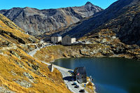 Great St. Bernard Pass, Bourg-Saint-Pierre, Valais, Switzerland