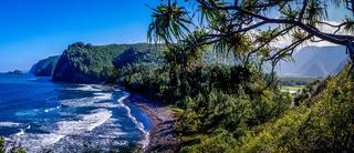 Pololu Valley Hawaii Panorama