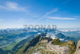 Säntis, Schwägalp Berglandschaft - Schweiz