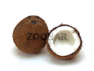 eineinhalb Kokosnuss / one and a half coconut