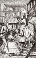 Perfumery, France, 18th century