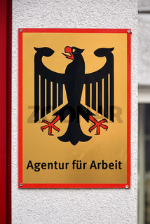 German shield for job agency