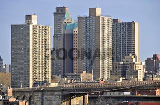 Sozialer Wohnungsbau, Manhattan, New York City, USA, Amerika