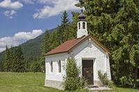 chapel in Ursprung valley near Bayrischzell