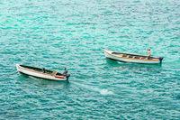 Fishing boats in Mauritius