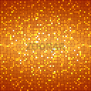 Orange Red - Disco Matrix Background