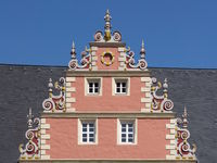 Wolfenbüttel - Gable at the Zeughaus (armoury), Germany