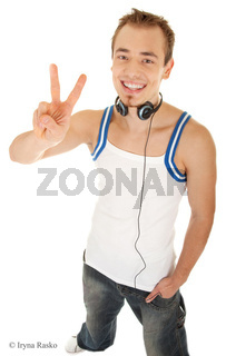 I am free to listen my music