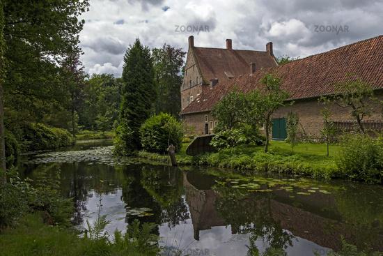Water castle house Welbergen
