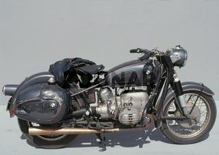 Altes BMW Motorrad