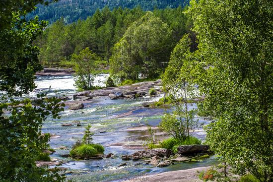 Rapids in Evje Norway