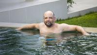 man pool
