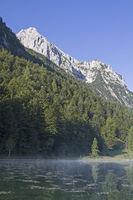 Early morning at lake Ferchensee