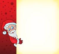 Lurking Santa Claus with copyspace 2
