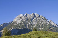 Falk group mountains in Risser Valley in Tirol