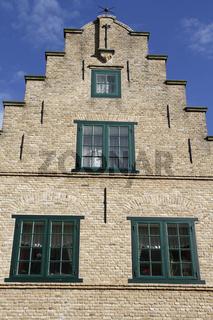 Treppengiebelhaus, Friedrichstadt, Nordfriesland, Deutschland