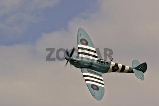 UK Duxford Supermarine Spitfire D Day Markings