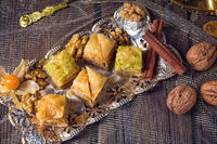 A fresh and tasty real Turkish Baklava