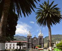 Catedral Church of the Virgin of the Holy Water (Nuestra Señora del Agua Santa), Baños de Agua Santa, Ecuador