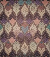 Grunge Geometric Colorful Pattern