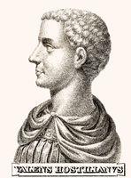 Hostilian, 230-251, Roman Emperor