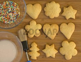 Weihnachtsbäckerei / cookies