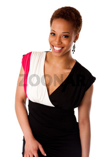 Beautiful smiling African business woman