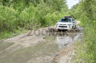 Toyota 4Runner SUV in Nebraska Sandhills