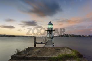 Lighthouse in the morning light