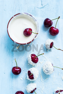 cherries in chocolate